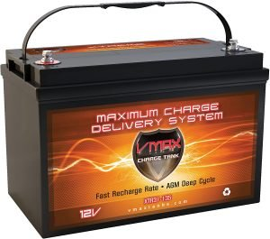 VMAX XTR31-135 AGM Marine Battery 12V 135Ah GRP 31 Sealed Deep Cycle